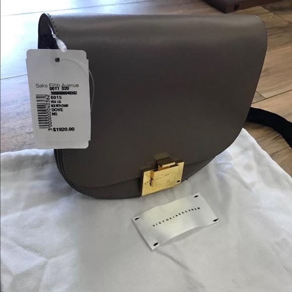 7129867daa Victoria Beckham Women s Leather Crossbody Bag